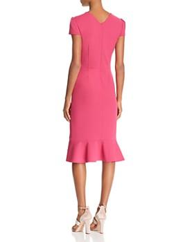 Betsey Johnson - Puff-Sleeve Scuba Crepe Dress