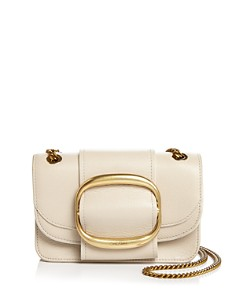 See by Chloé - Hopper Small Oversized Buckle Leather Crossbody