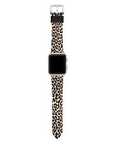 kate spade new york - Leopard Print Apple Watch® Rubber Strap