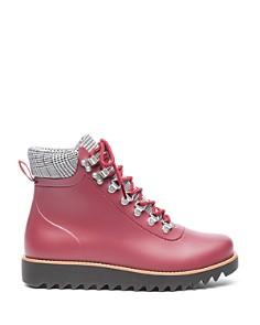 Bernardo - Winnie Lace-Up Rubber Rain Boots
