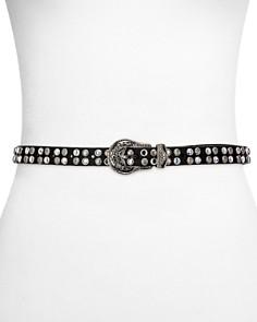 The Kooples - Western Embellished Leather Belt