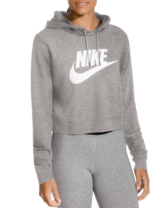Nike - Rally Cropped Hooded Sweatshirt