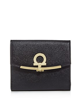 Salvatore Ferragamo - Gancini Leather Wallet