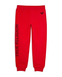 True Religion - Boys' Logo Sweatpants - Little Kid, Big Kid