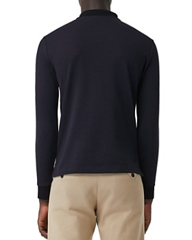 Burberry - Hartford Long-Sleeve Pique Polo Shirt