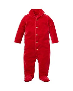 Ralph Lauren - Boys' Velour Footed Coverall - Baby