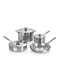 Le Creuset - Stainless Steel 7-Piece Cookware Set