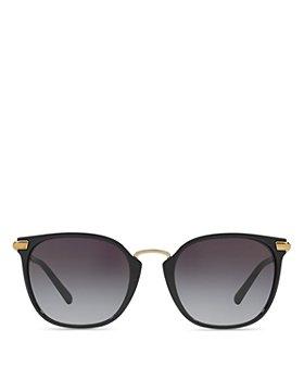 Burberry - Women's Check Square Sunglasses, 53mm