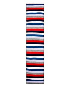 AQUA - Striped Cashmere Scarf - 100% Exclusive