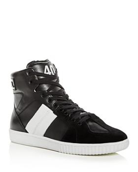 Diesel - Men's Millenium Leather High-Top Sneakers