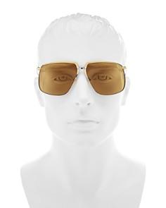 Gucci - Men's Oversized Square Sunglasses, 59mm