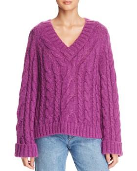 Rebecca Minkoff - Maxine Cable Sweater