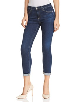 AG - Prima Roll Up Jeans in 2 Years Aromatique Blue ... 264e3203e59