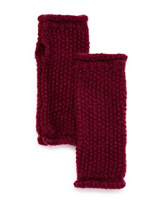 Rebecca Minkoff - Rolled-Edge Fingerless Gloves