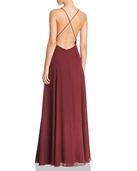 Fame and Partners - Ireland Georgette Gown