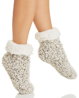 Cejoli - Cuffed Knit Slipper Socks