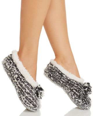 Cejoli Frosted Pom-Pom Slippers