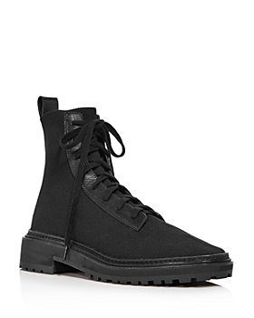 Loeffler Randall - Women's Brady Knit Lace-Up Boots