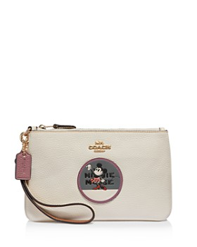 COACH - Disney x Coach Minnie Mouse Small Patch Wristlet