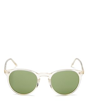 Oliver Peoples - Unisex O'Malley Round Sunglasses, 48mm