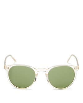 Oliver Peoples - Women's O'Malley Pantos Sunglasses, 48mm
