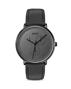 HUGO - #GUIDE Gray & Black Watch, 40mm