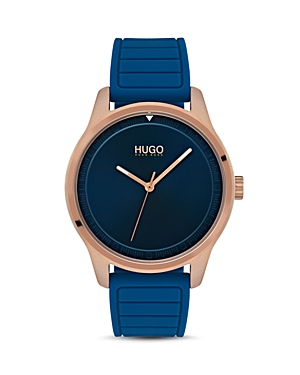 Hugo #Move Blue Watch, 42mm