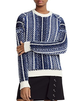 Maje - Manihi Geo-Pattern Sweater