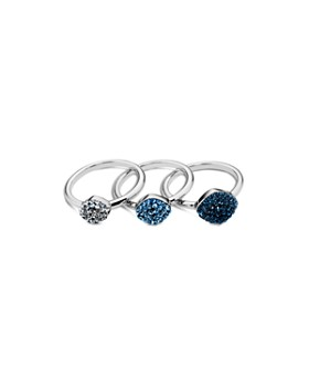 Atelier Swarovski - Moselle Set of 3 Stacking Rings