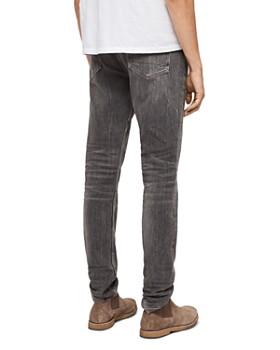 ALLSAINTS - Rex Straight Slim Jeans in Gray