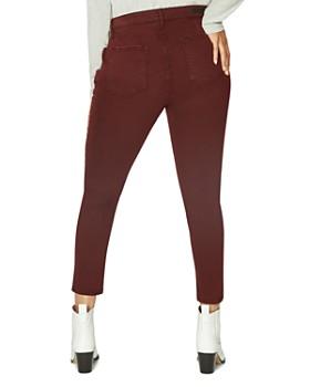 Sanctuary Curve - Social Standard Ankle Jeans in Scarlet