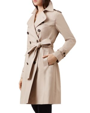 Saskia Trench Coat, Clay