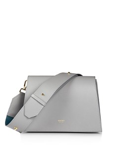 MATEO - Elsa Medium Leather Shoulder Bag