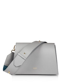 MATEO - Elsa Medium Leather Shoulder Bag