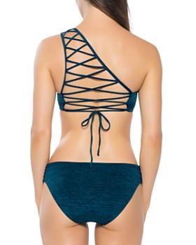 BECCA® by Rebecca Virtue - Mesa Verde Asymmetric Bikini Top & Mesa Verde American Bikini Bottom