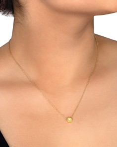"""Dogeared - It's the Little Things Necklace in 14K Gold-Plated Sterling Silver, 16"""""""