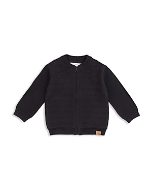 Miles Baby Boys' Textured Knit Bomber Jacket - Baby
