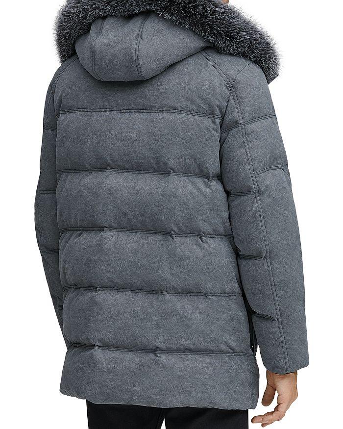 eda5ae6aada1 Andrew Marc Rockland Fox Fur Trim Quilted Parka   Bloomingdale's