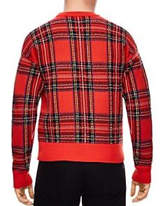 Sandro - Tartan Plaid Sweater
