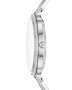 Michael Kors - Jaryn Silver-Tone Watch, 36mm