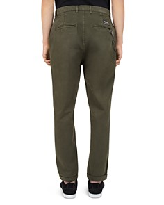 The Kooples - Chain-Accent Relaxed Fit Chino Trousers