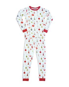 BedHead - Unisex Deck the Halls Pajama Shirt & Pants Set - Big Kid