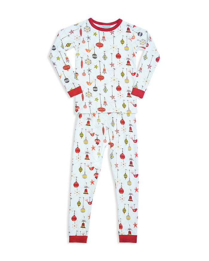 BedHead - Unisex Printed Holiday Pajama Shirt & Pants Set - Big Kid