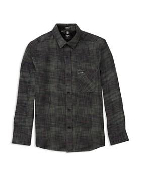 52136f6d30 Volcom - Boys' Buffalo Glitch Shirt - Little Kid