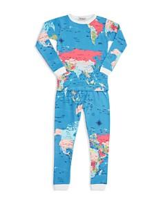 BedHead - Unisex Printed Holiday Pajama Shirt & Pants Set - Little Kid, Big Kid