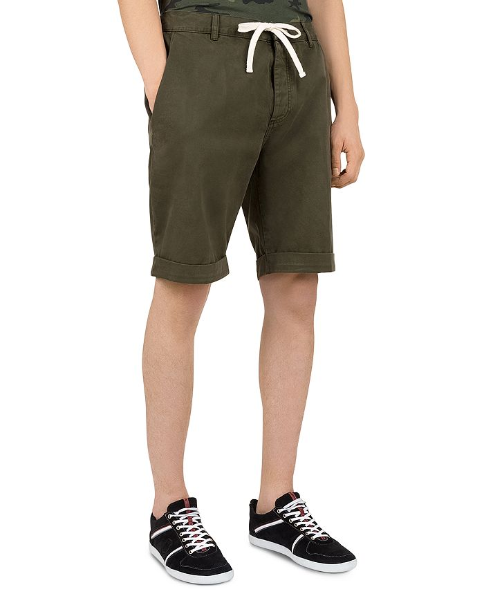 The Kooples - Denim Drawstring Shorts