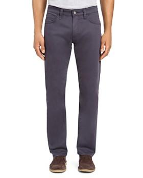 Mavi - Zach Straight Fit Twill Pants in Dark Blue