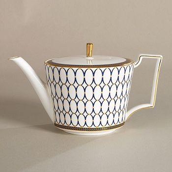 "Wedgwood - ""Renaissance Gold"" Teapot"