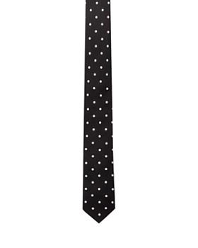 The Kooples - Polka-Dot Silk Skinny Tie