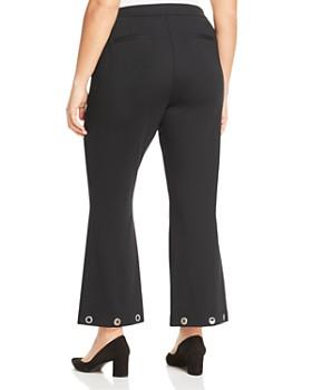 MICHAEL Michael Kors Plus - Grommet Cuff Flare Pants